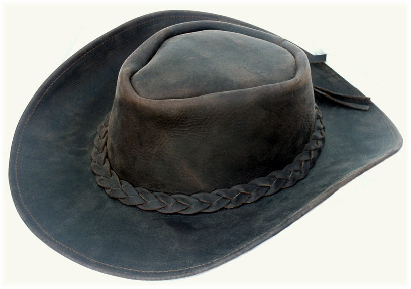 Leather Sombreros Hats Fine Quality Spanish Leather