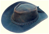 Sombreros,Leather cowboy hats