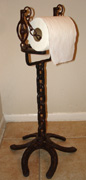 Horse shoe Standing Tissue Holder
