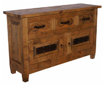 wooden buffet,  servidor