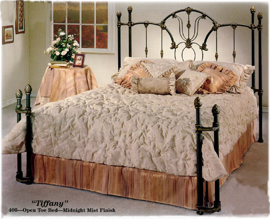Elliott S Designs Tiffany 400 Wrap Open Toe Bed Wrought