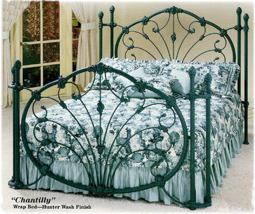 Elliott S Designs Chantilly 450 Wrought Rod Iron Beds
