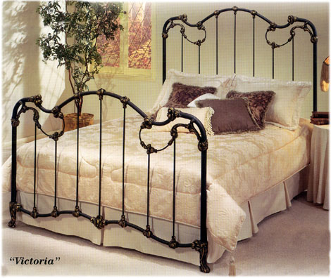 Elliott S Designs Victoria 47 Complete Bed Wrought Rod