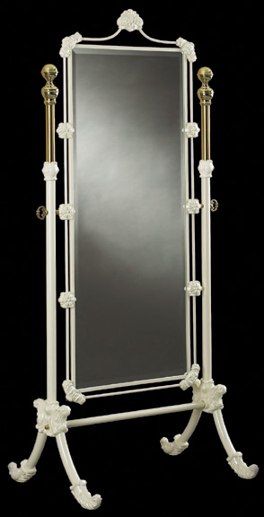 Elliott S Designs Bed Mirror Cheval Mirror Wrought Rod