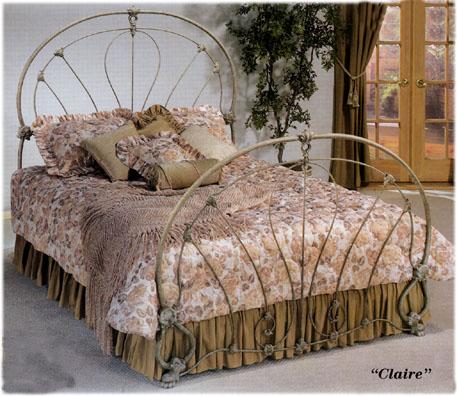 Elliott S Designs Claire 82 Wrought Rod Iron Beds Antique
