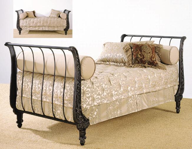 Elliott S Designs 8722 Le Jardin Queen King Complete Metal