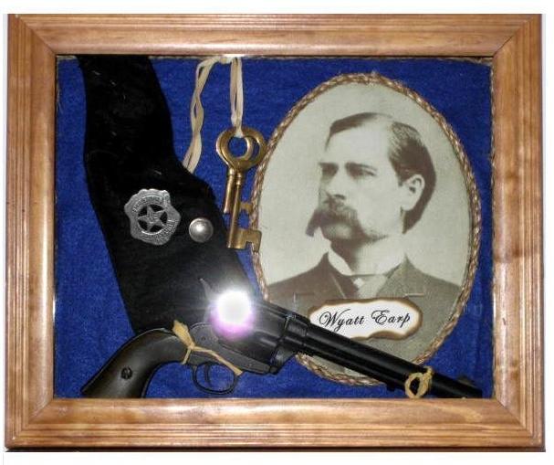 Wyatt Earp Shadow Box
