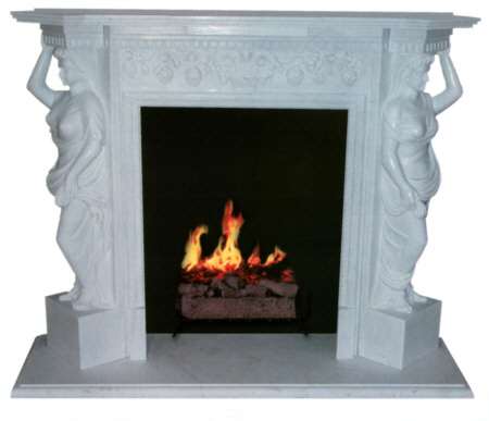 Marble Fireplace Mantel FP41