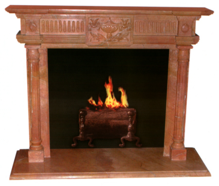 Marble Fireplace Mantel FP609
