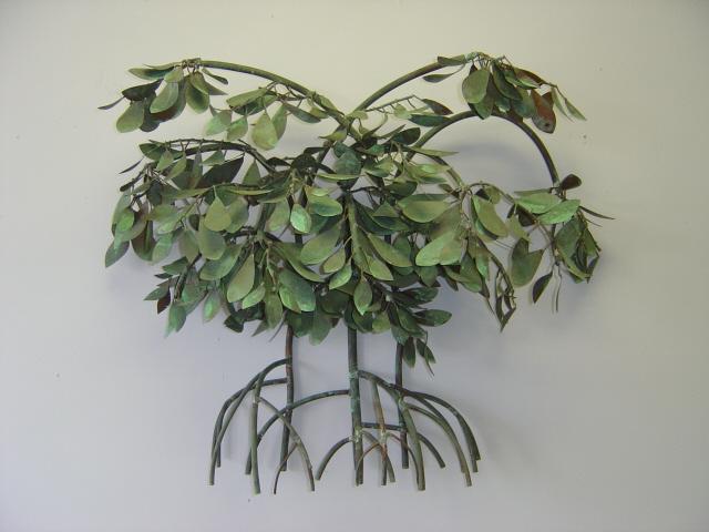 Mangroves Wall Sculpture Hanging Metal Art Mangroves
