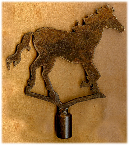 Horse Finial Southwest Lamp Finials Native American Indian Motif Floor And Table