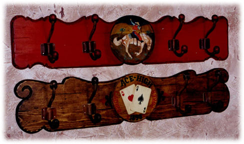J C Schahrer Western Saloon Coatracks