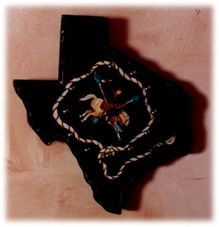 Texas Clock jc012