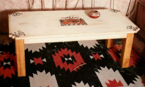 Southwestern Furniture Southwest Coffee Table JC# 412 J C Schahrer Gallery