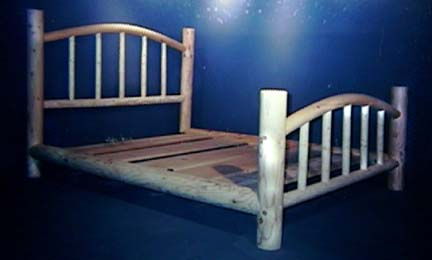 Lodge Pole Beds For The Indian Or Cowboy In You
