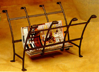 Tiara Magazine rack
