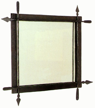 Quapaw arrow wall mirror #901317