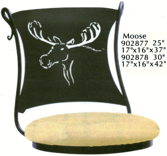 Moose Bar and Counter Stools