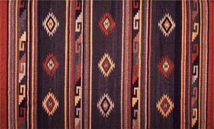 Traditional Zapotec Rug Designs Southwestern Mitla Con
