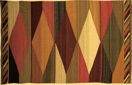 Traditional Meso American Rug Designs From The Early 20th