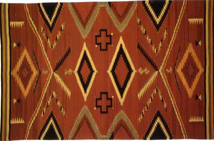 Southwestern Walk In Beauty Artistic Rug Designs Navajo