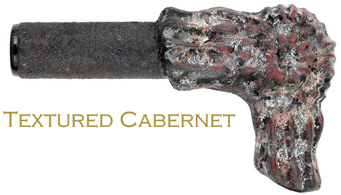 texture cabernet finish