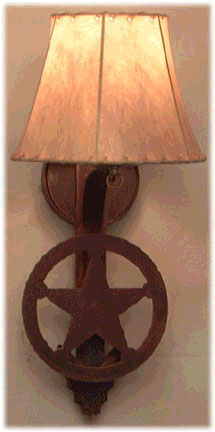 Texas Star Wall Sconces Wall Hanging Fixtures Lamps